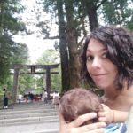Porteando con mochila ergonómica en Japón