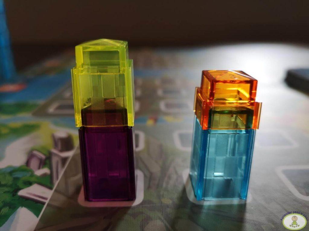 cómo no se pueden colocar los edificios sobre otro jugador