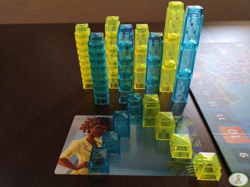 Preparación y selección de bloques para 2 jugadores
