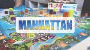 reseña cómo se juega juego de mesa Manhattan