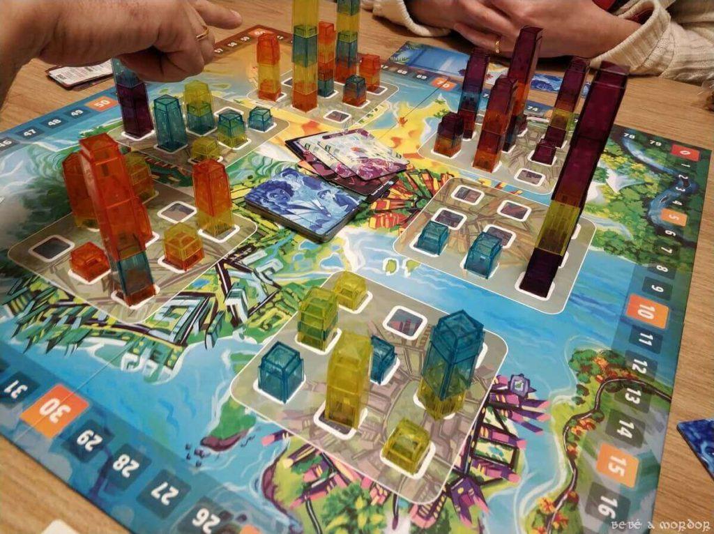 reseña juego de mesa Manhattan