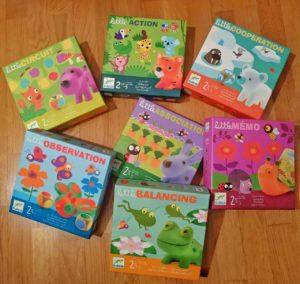 Juegos de mesa Djeco Colección Little