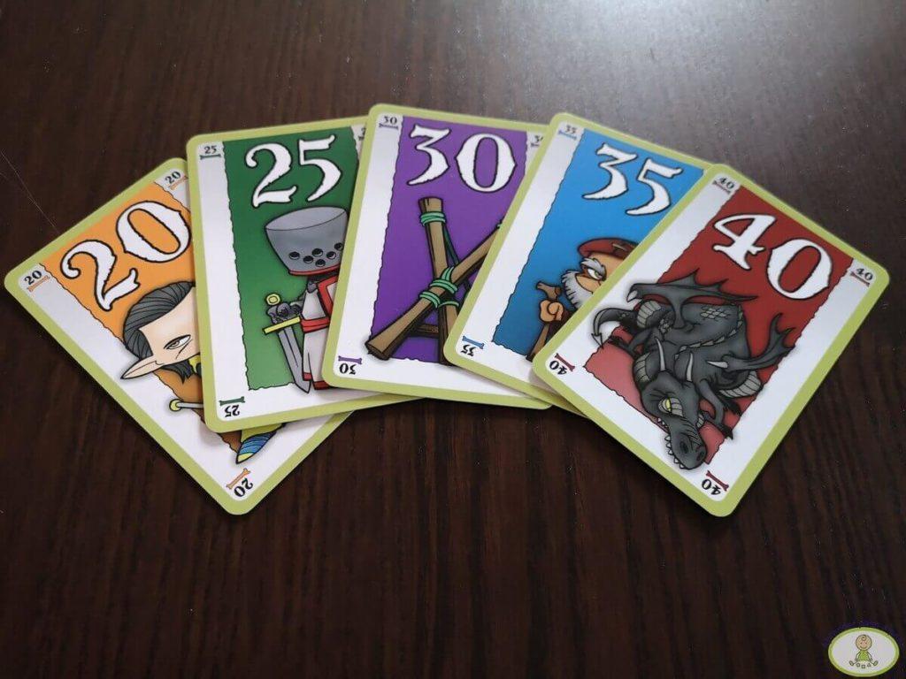 escalera invencible cinco cartas consecutivas de diferentes razas