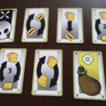 Frenetic Village 7 tipos de cartas de acción
