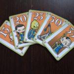 Frenetic Village 8 cinco cartas consecutivas de la misma raza