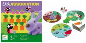 Juego de mesa Little Association Djeco