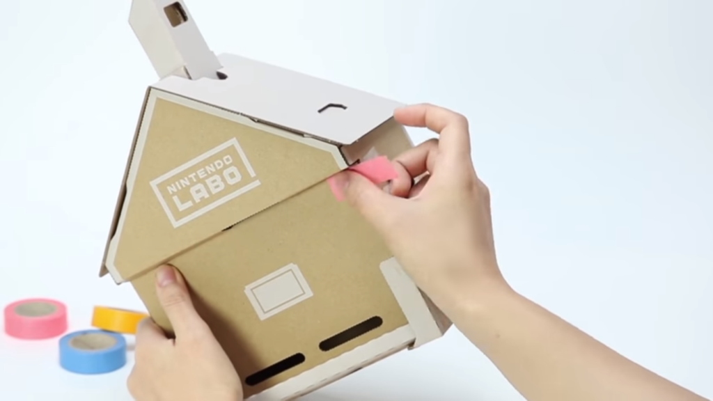 Arreglar Casa Nintendo Labo rota