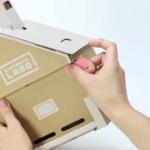 Nintendo Labo casa cartón roto 2