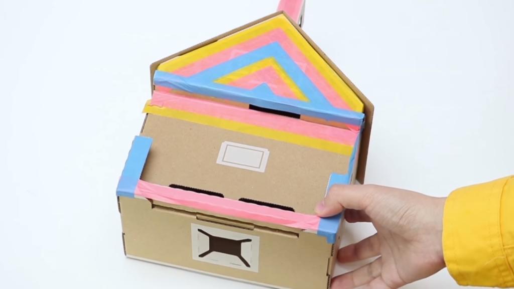 Casa rota y arreglada Nintendo Labo