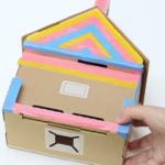 Nintendo Labo casa cartón roto 3