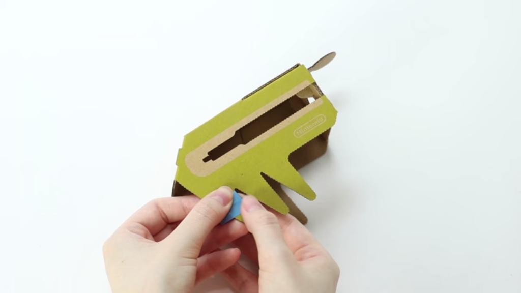 Arreglar cartón roto Nintendo Labo