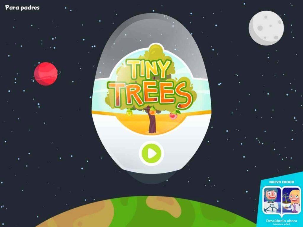 Tiny Trees app transmedia