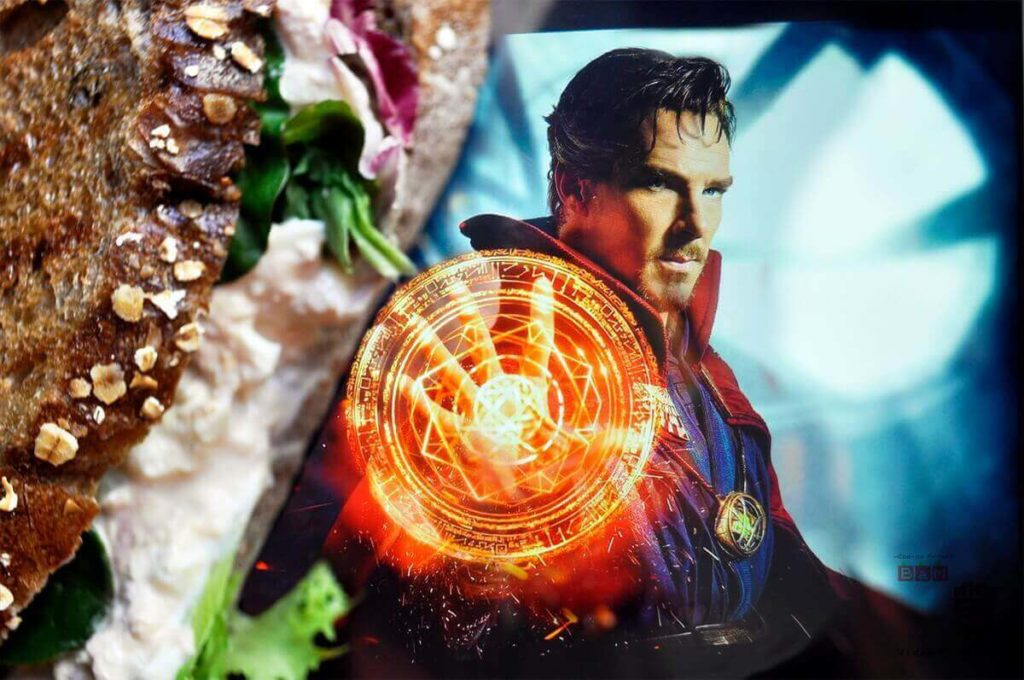 sándwich de Atún Doctor Strange