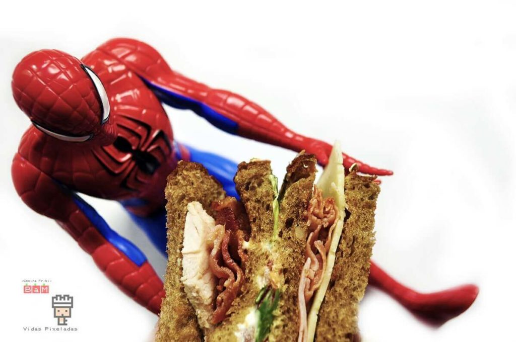 Spiderman Sandwich Club