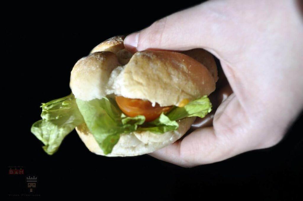 mini hamburguesa de antman y la avispa