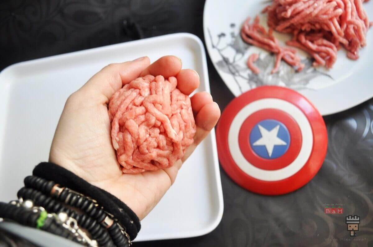 recetas de comida rápida de Los Vengadores Infinity War