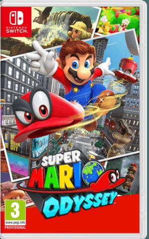 Nintendo Switch Super Mario Odyssey niños