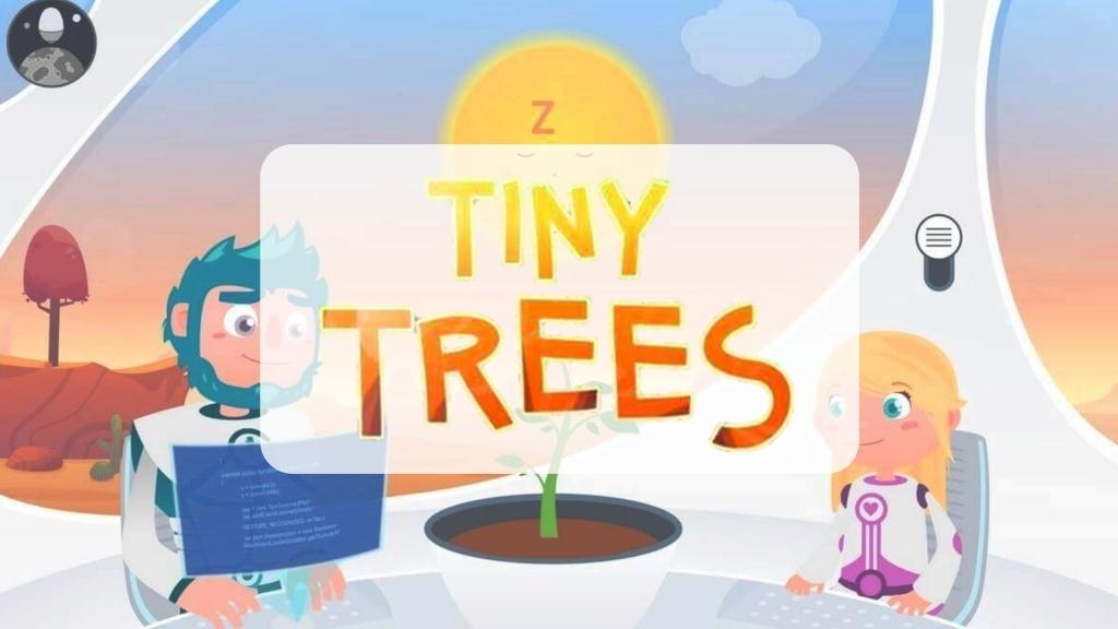Libro Tiny Trees y app Aventura Ecoespacial