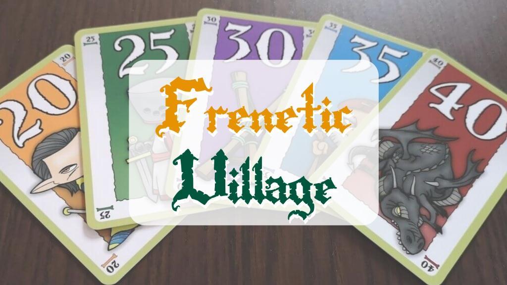 reseña cómo se juega Frenetic Village Cayro