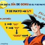 Día de Goku por qué 9 de mayo GO KU