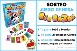 Sorteo Big Bazar Facebook