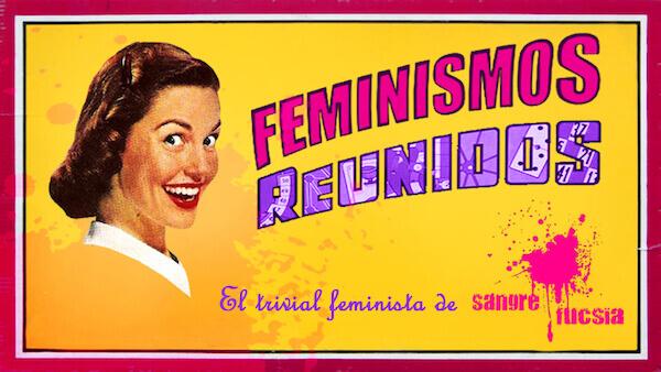 caja juego de mesa Feminismos Reunidos