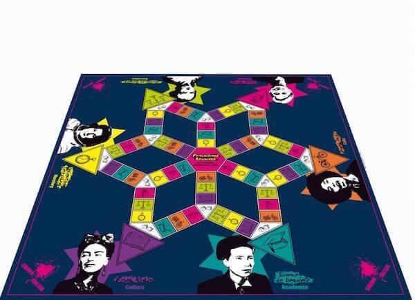 Feminismos reunidos tablero juego feminista