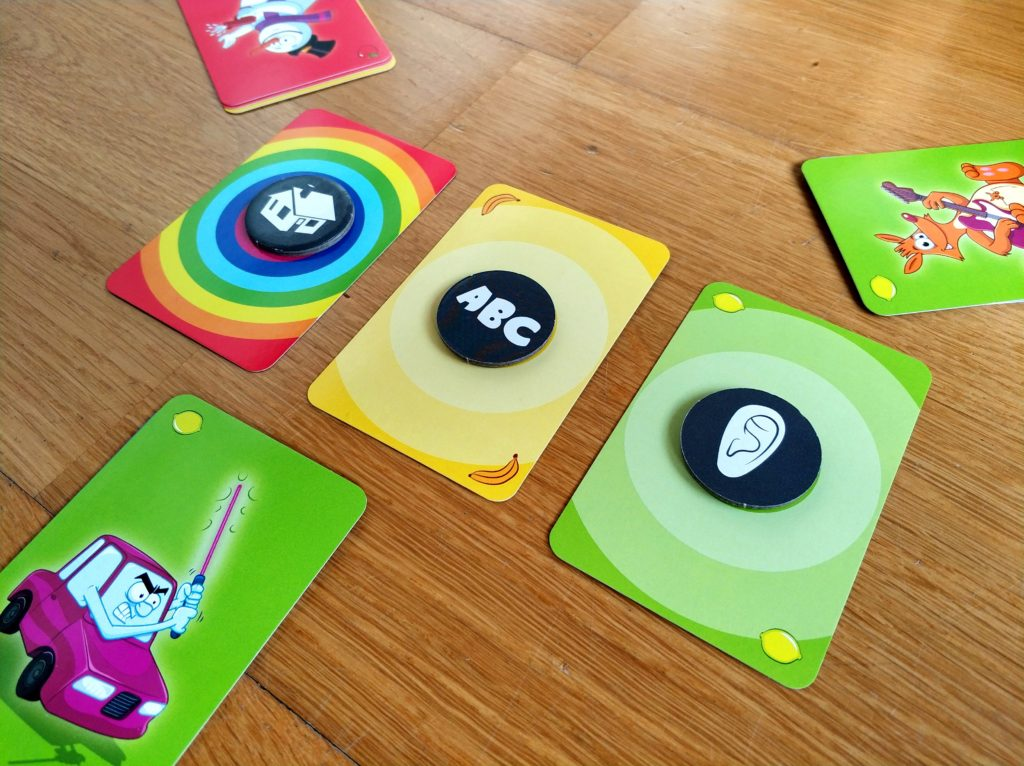 Cartas de color juego Big Bazar