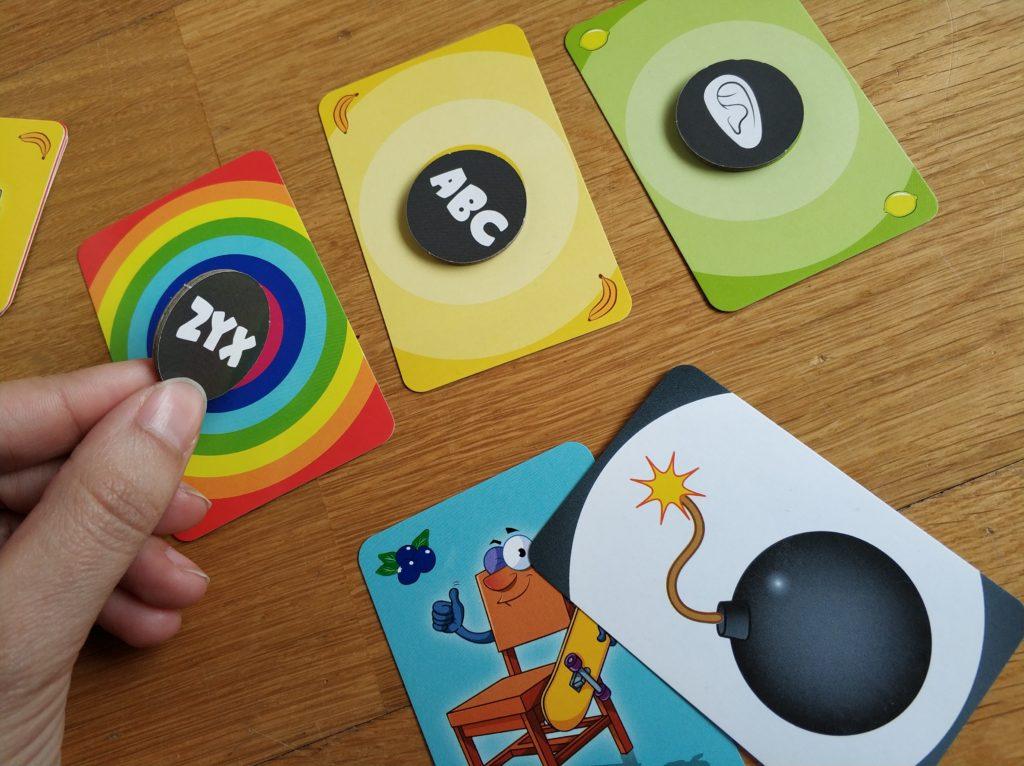 Juego de mesa Big bazar cartas bomba