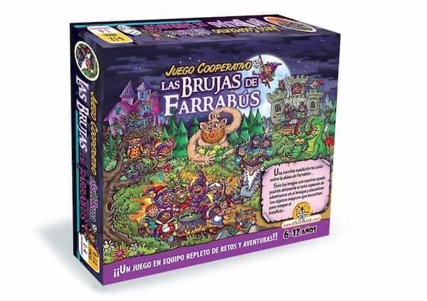 caja juego de mesa Las BRujas de Farrabús