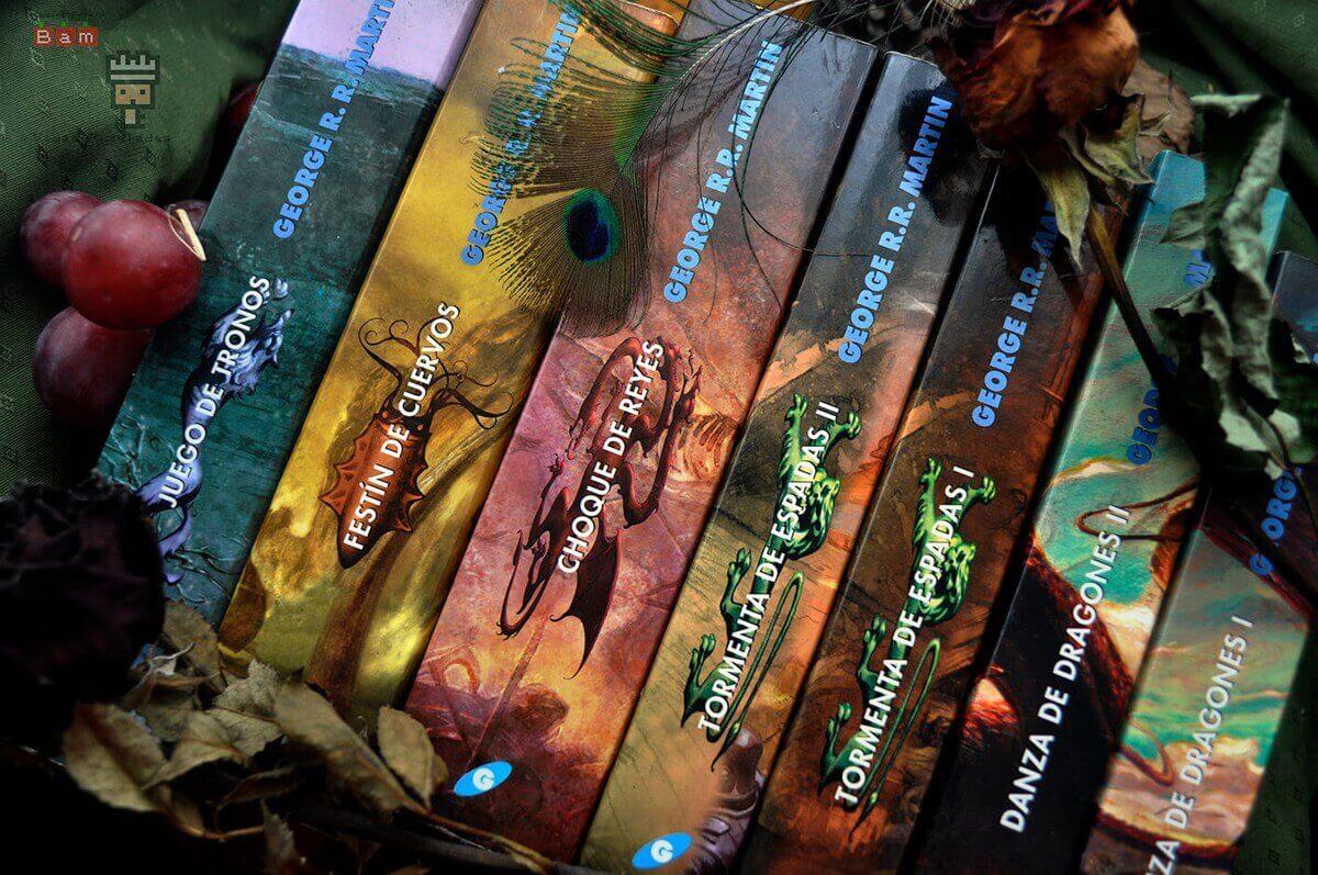 Los libros de Juego de Tronos