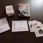 componentes juego de mesa Ohanami