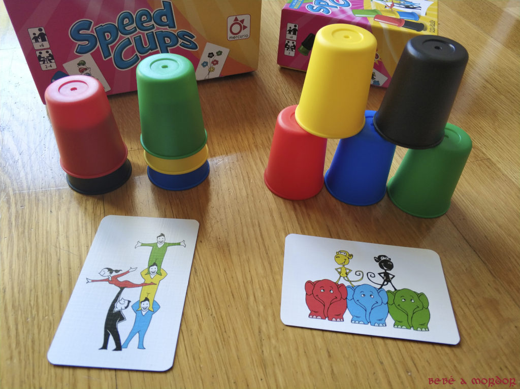 Speed Cups 2 composiciones con cubiletes