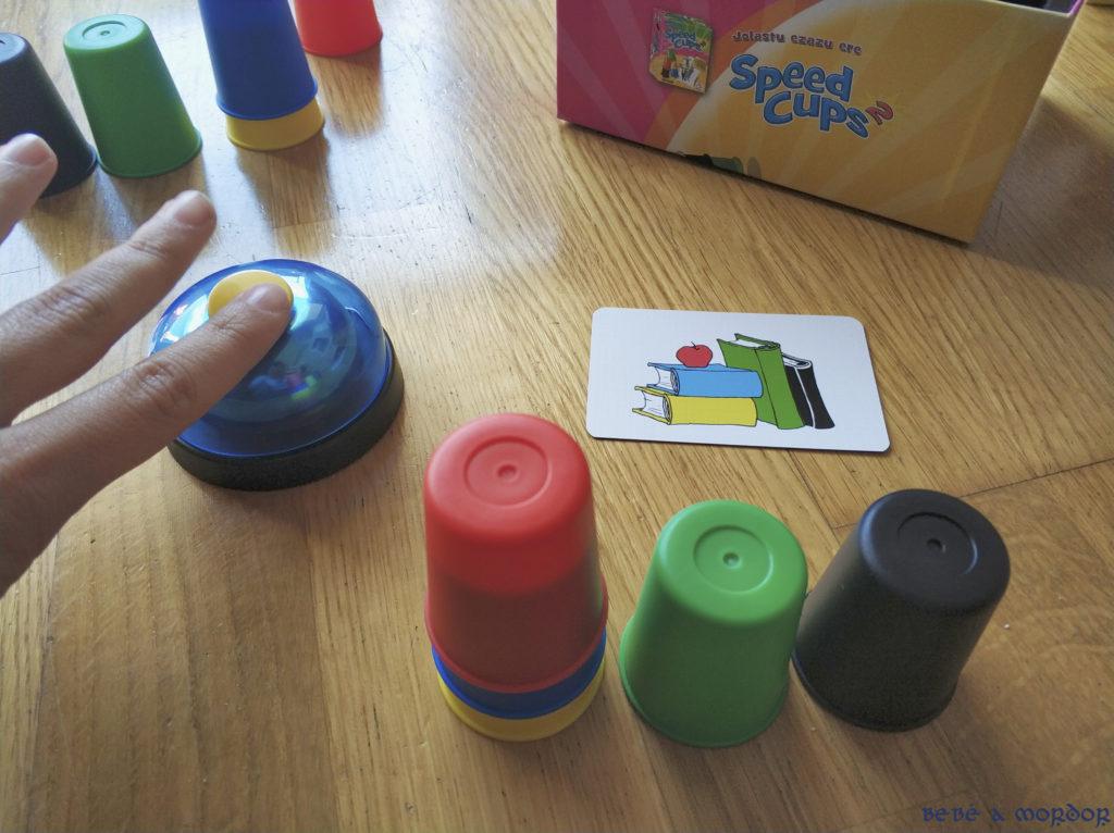 Timbre Speed Cups juego de mesa Mercurio