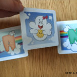 carta nube juego de mesa Rainbow