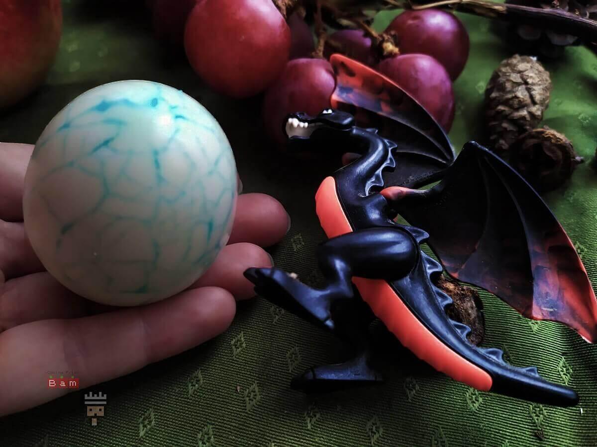 huevos de Dragón de Juego de Tronos receta friki