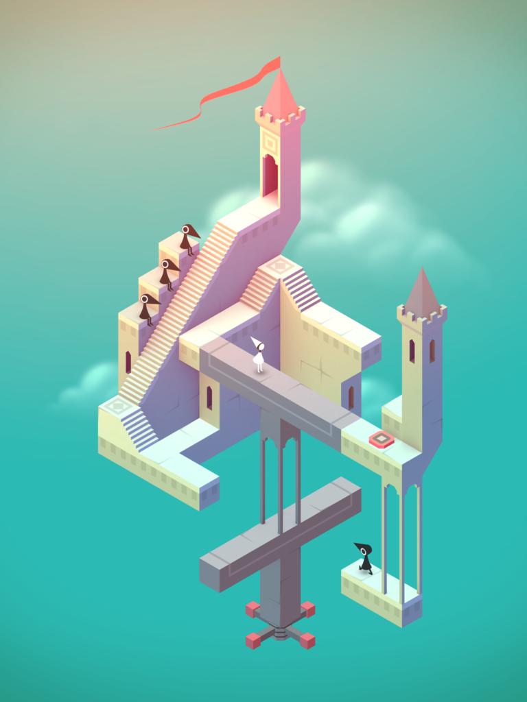 videojuego Monument Valley para niños edad