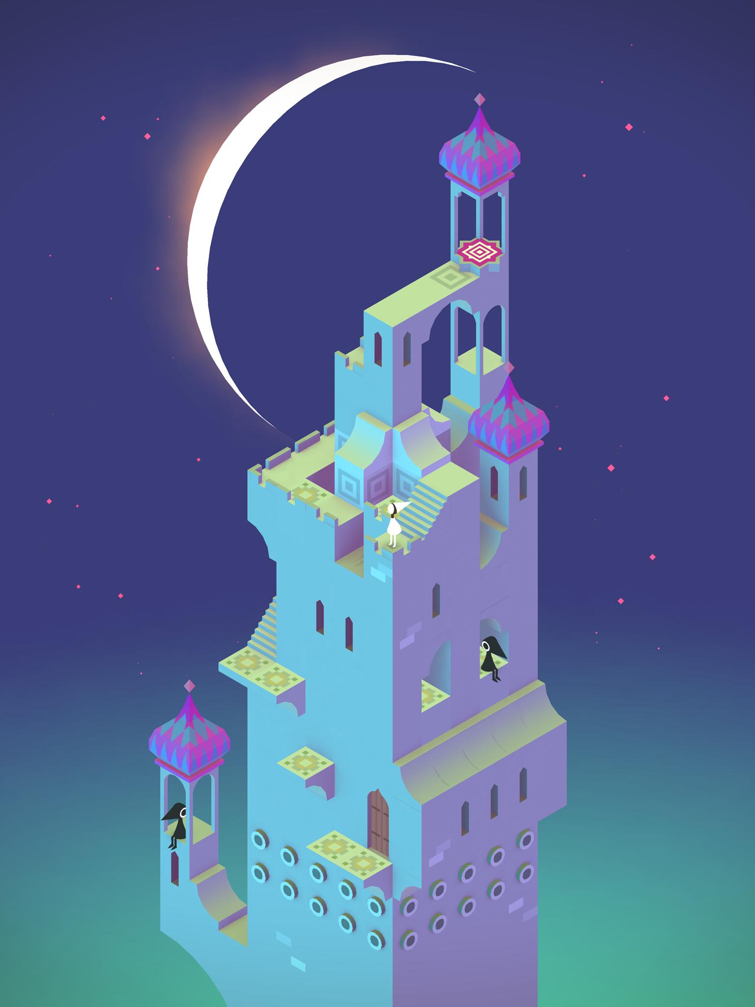 Monument Valley app niños