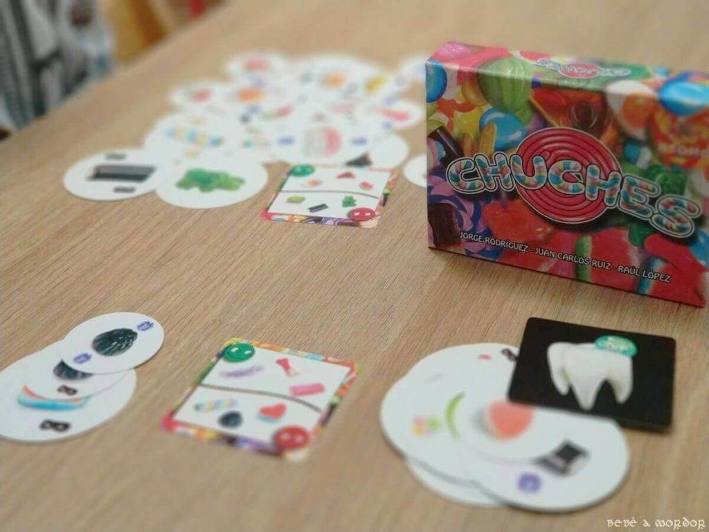 juego de cartas Chuches de Átomo
