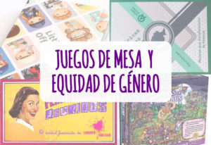 juegos de mesa y equidad de genero