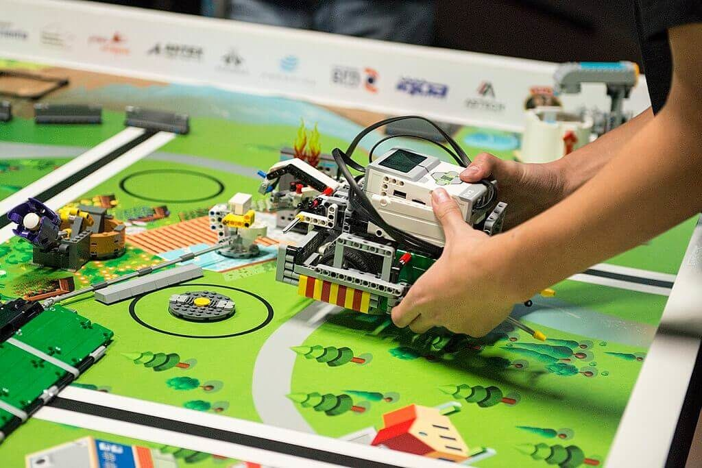 Robot LEGO Mindstorms en la First LEGO League