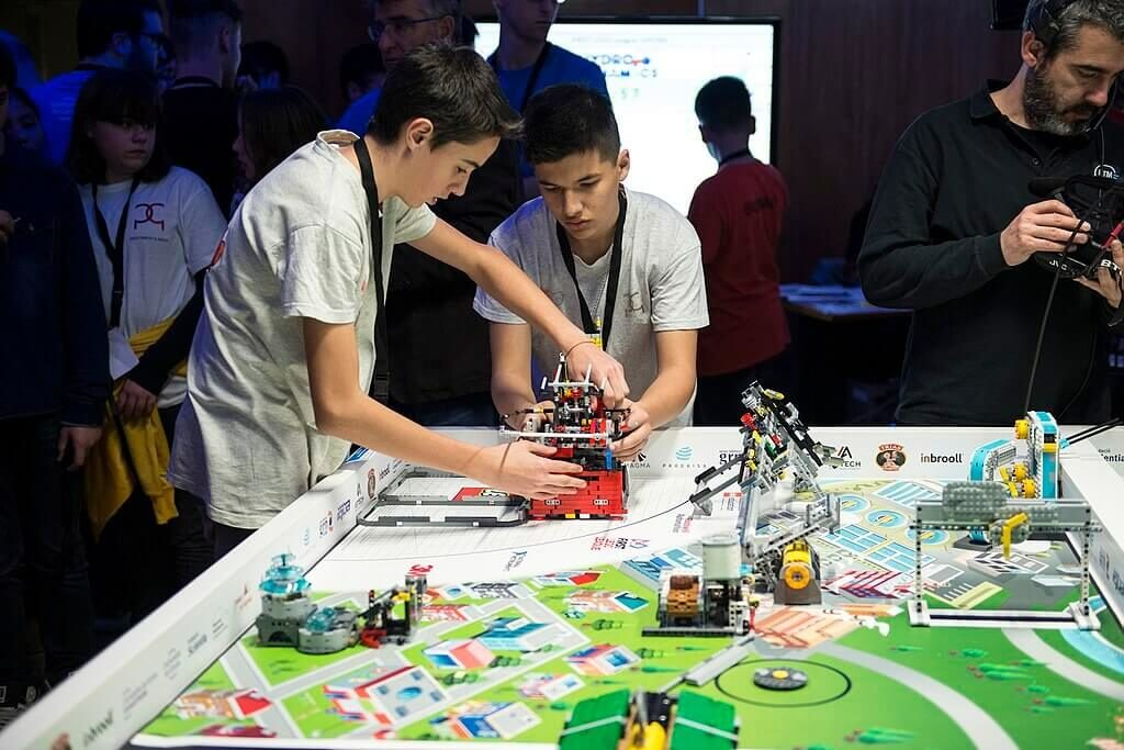 ventajas de la First LEGO League