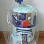 tarta de pañales friki DIY de Star Wars