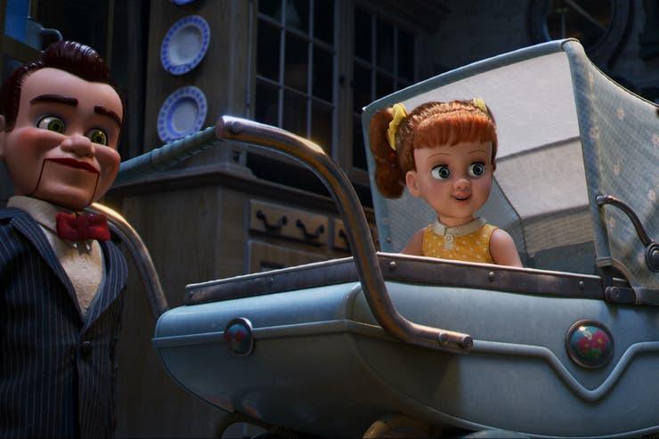 Los villanos de Toy Story 4. Muñecos de ventrílocuo.