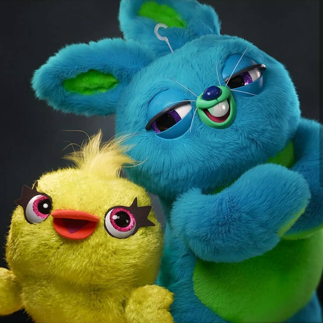 Ducky y Bunny peluches de Toy Story 4