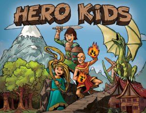 Portada Hero Kids ilustración