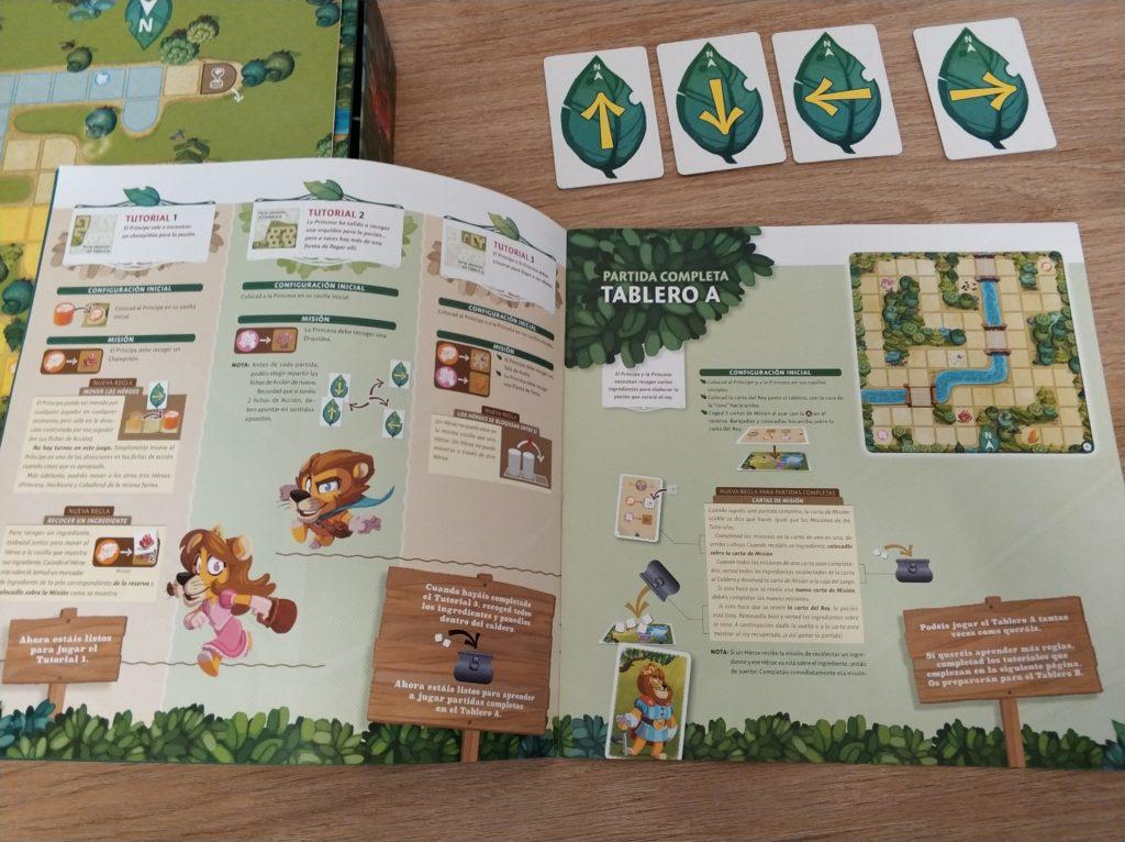 Instrucciones Magic Maze Kids reglas español