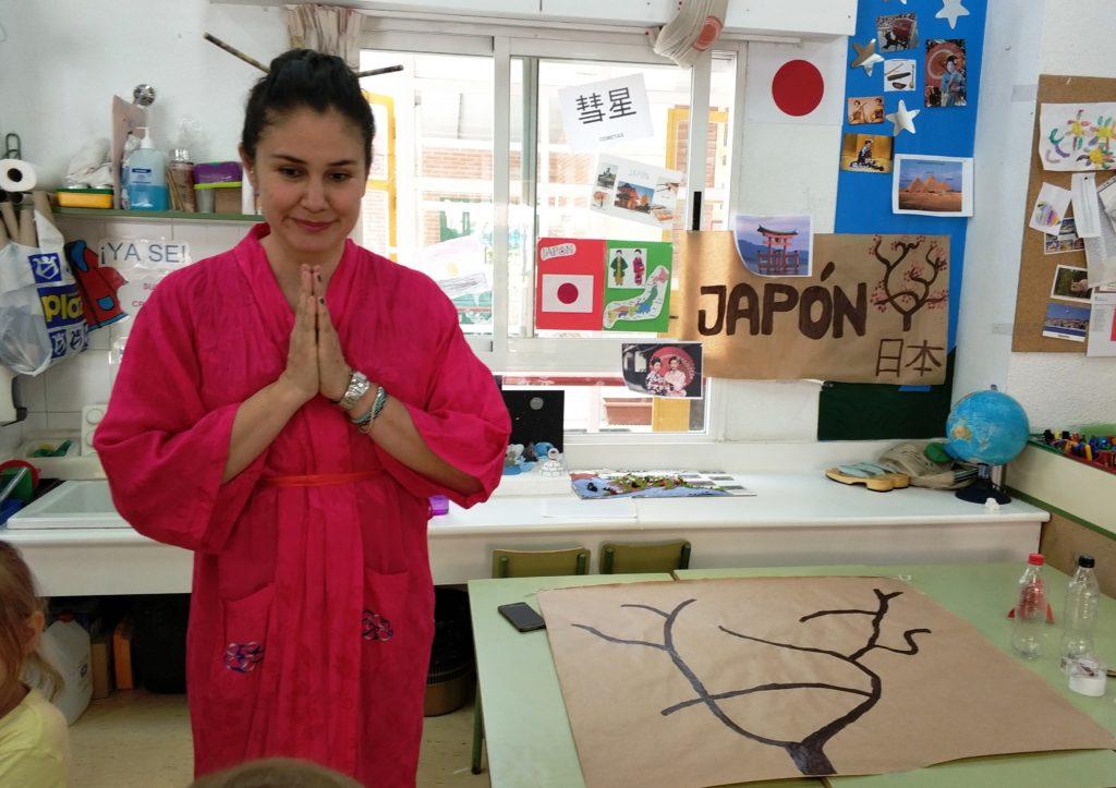 juego de rol en vivo con niños Japón