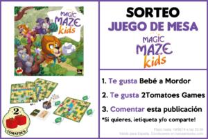Sorteo Facebook juego de mesa Magic Maze