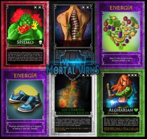Mortal Virus juego hábitos saludables EF
